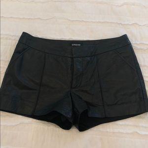 Bebe Genuine Leather Shorts